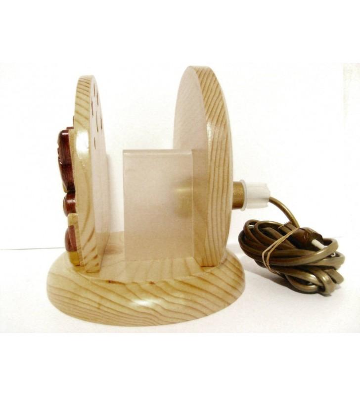 Lampe de chevet veilleuse avec prénom, Chat et Chaton