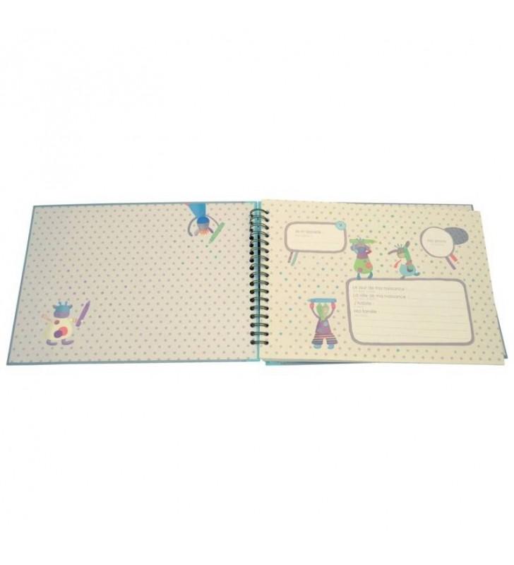 Pages illustrées de l'album photos de classe - Souvenirs d'école - Les Jolis pas beaux