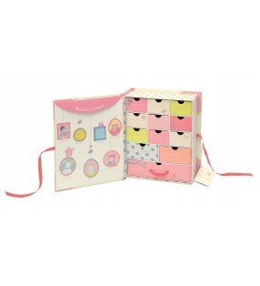 "Coffret Naissance ""Mademoiselle et Ribambelle"" - Intérieur - Moulin Roty"