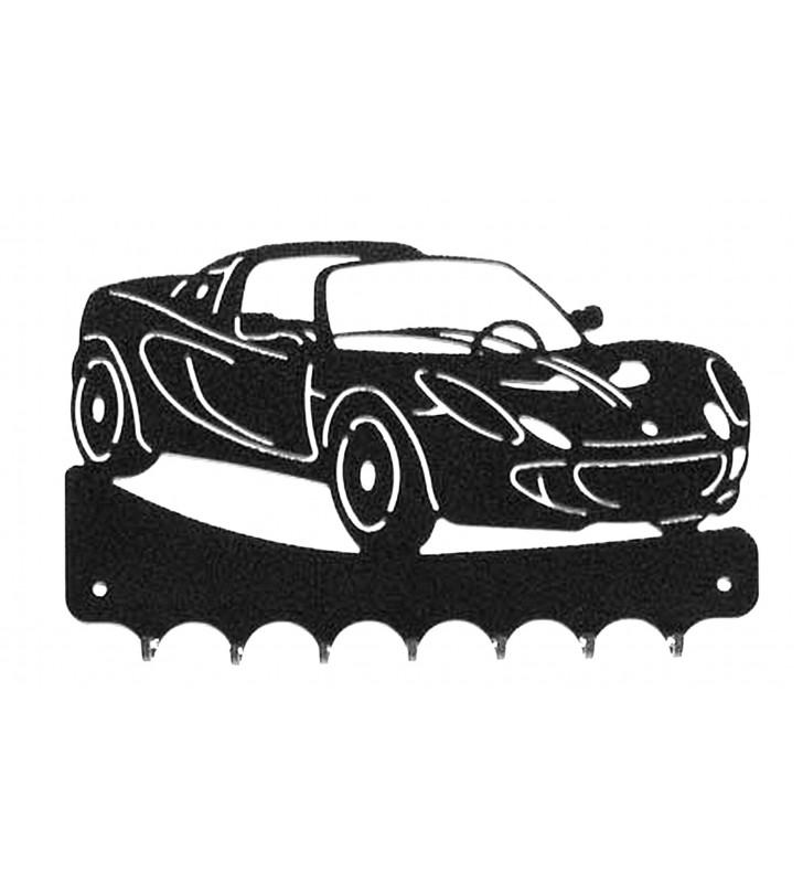 Accroche-clés, décor en métal, Lotus Elise S2