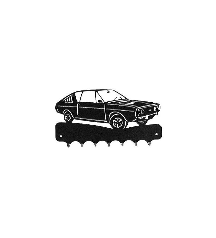 Accroche-clés, décor en métal, Renault 17