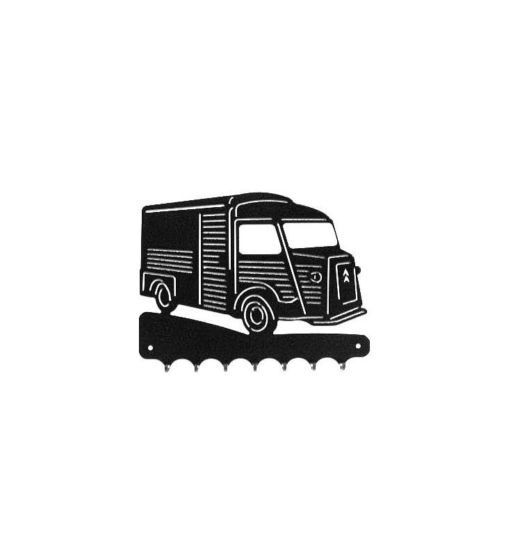 Accroche-clés en métal, Tube Citroën