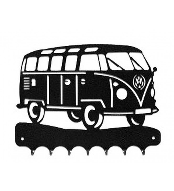 Accroche-clés, décor en métal, Combi T1 Volkswagen