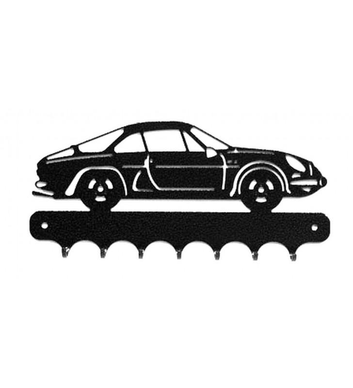 Accroche-clés, décor en métal, Alpine A 110