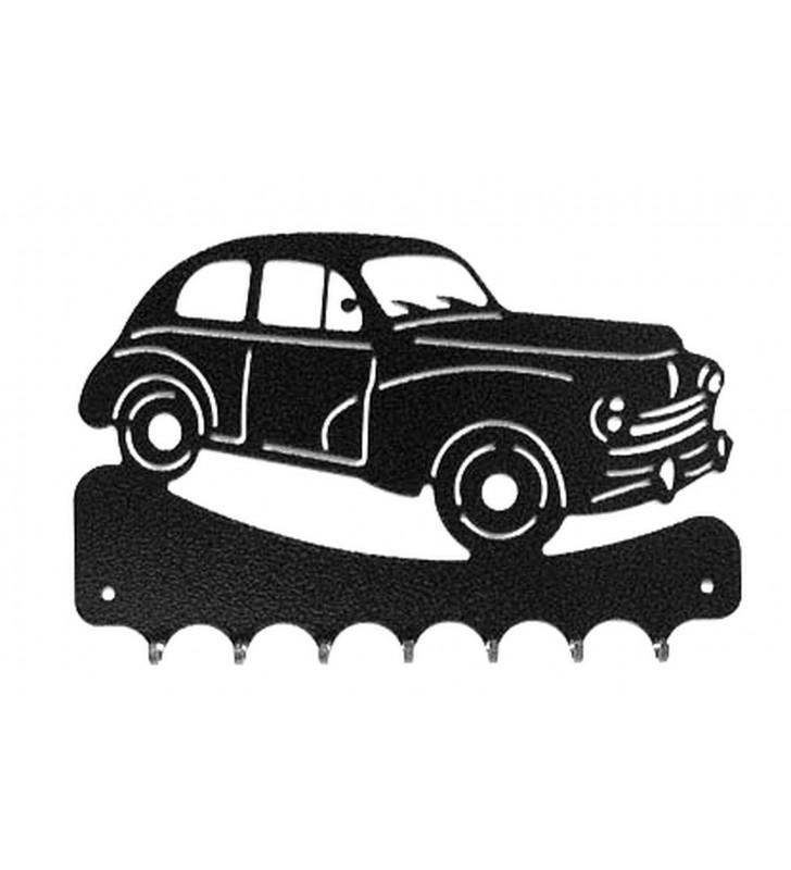Accroche-clés, décor en métal, Peugeot 203