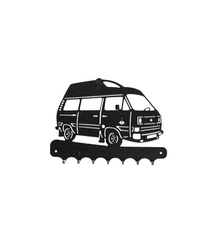 Accroche-clés, décor en métal, Jocker T3 Volkswagen