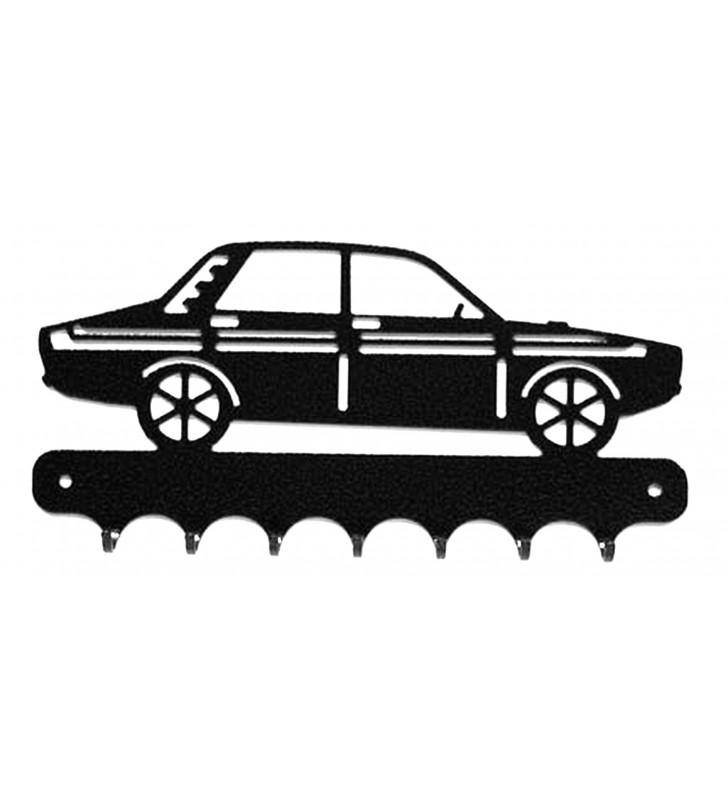 Accroche-clés, décor en métal, Renault 12 Gordini