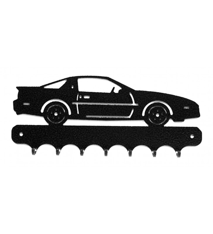 Accroche-clés, décor en métal, Pontiac