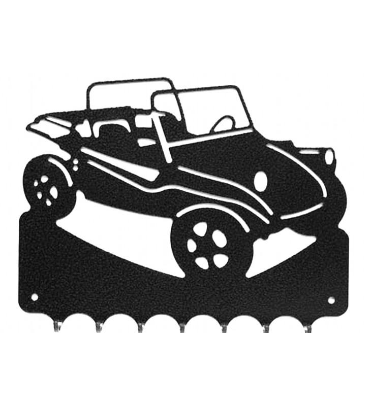 Accroche-clés, décor en métal, Vokswagen Manx