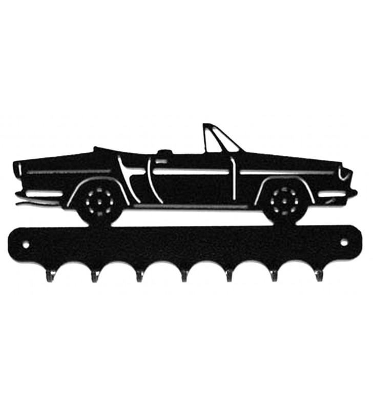 Accroche-clés, décor en métal, Caravelle Cabriolet