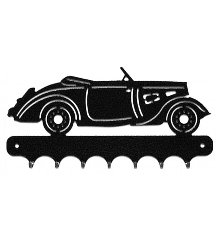 Accroche-clés, décor en métal, Peugeot 301 Cabriolet