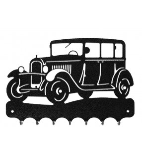 Accroche-clés, décor en métal, C4 A Torpédo de 1929
