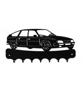 Accroche-clés, décor en métal, CX Citroën
