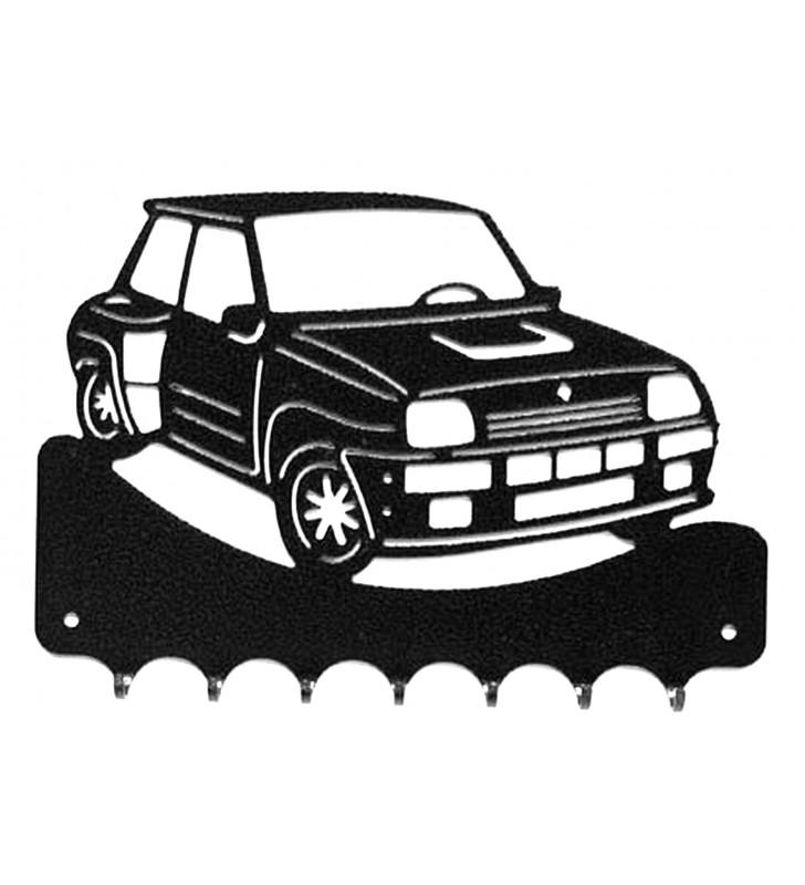Accroche-clés, décor en métal, R5 Turbo 2