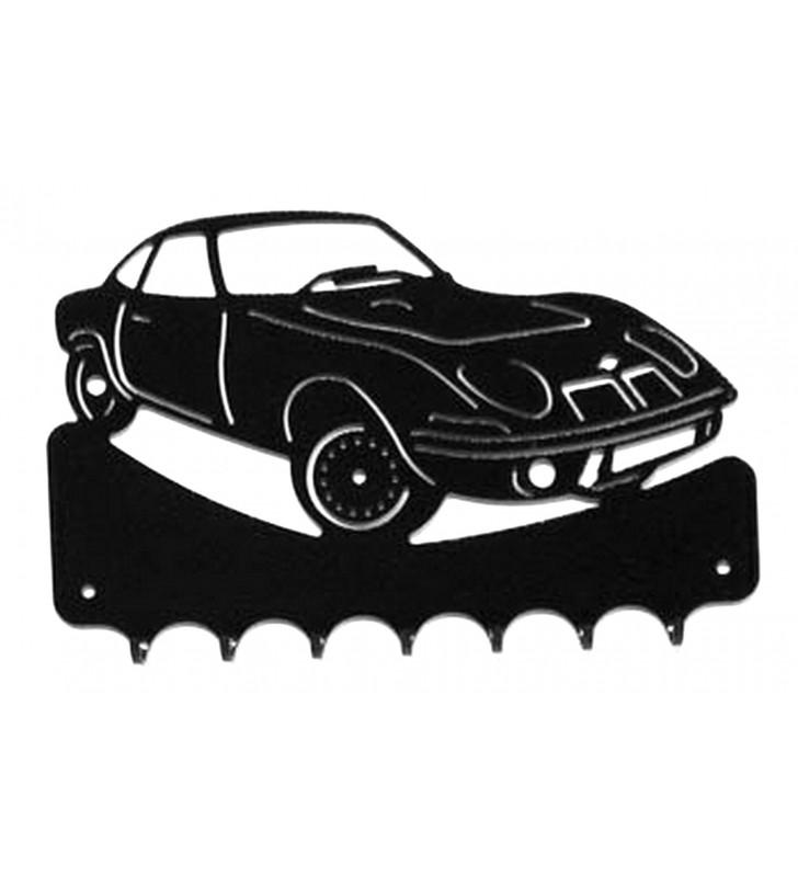 Accroche-clés, décor en métal, Opel GT 900