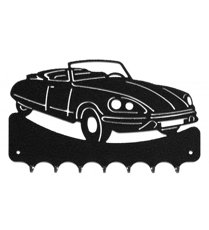 Accroche-clés, décor en métal, DS Cabriolet