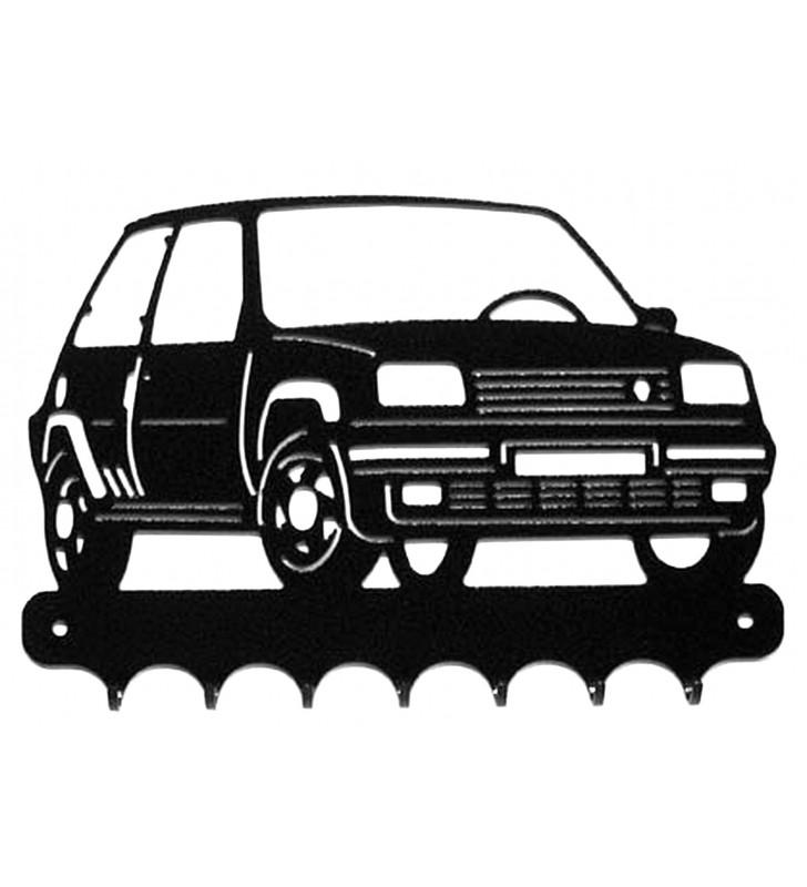 Accroche-clés, décor en métal, R5 GT Turbo