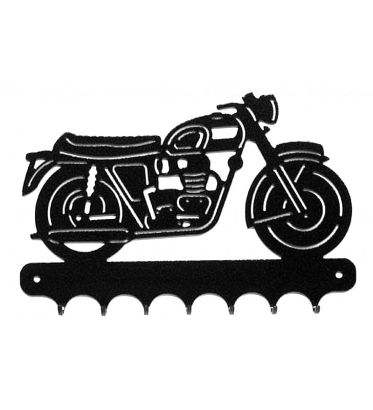 Accroche-clés, décor en métal, Triumph Bonneville
