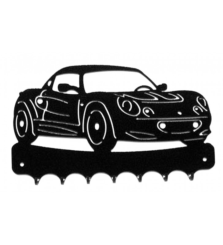 Accroche-clés, décor en métal, Lotus Elise S1