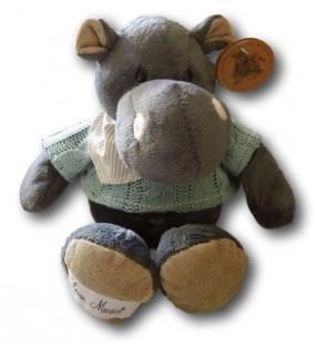 Peluche Louise Mansen, Hippopotame Arwen