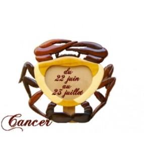 Cadre photo astrologique, signe cancer