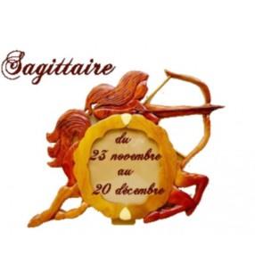 Cadre photo astrologique, signe Sagittaire