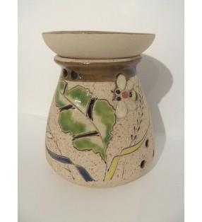 Brûle-parfum poterie artisanale, modèle Abeille