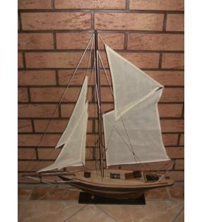 Pen Duick, maquette bateau en bois, déco pour collectionneurs