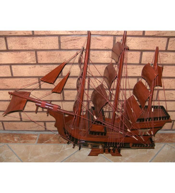 Santa Maria, maquette bateau en bois, déco pour collectionneurs