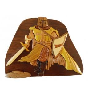 Boîte secrète en bois, Chevalier