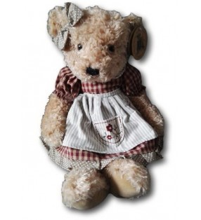 Peluche Louise Mansen, Ourse Chrissie, Collection 2020
