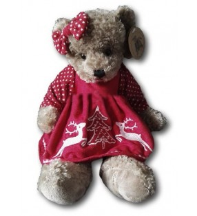 Peluche Louise Mansen, Ourse Dorthy, collection 2020