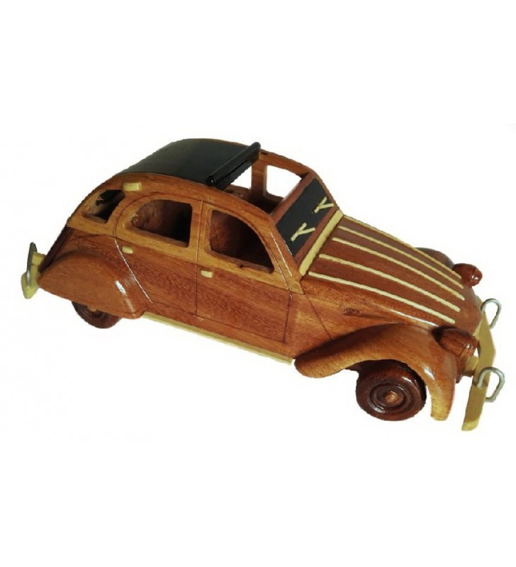 Reproduction en bois, 2CV Citroën
