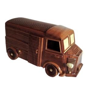 Maquette de voiture de collection en bois, modèle Tub de Citroën