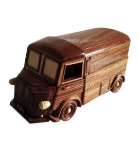 Maquette du TUB Citroën en bois
