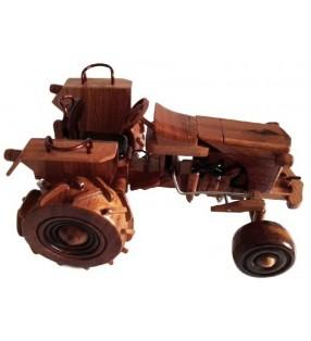 Reproduction en bois, Tracteur, pour collectionneurs