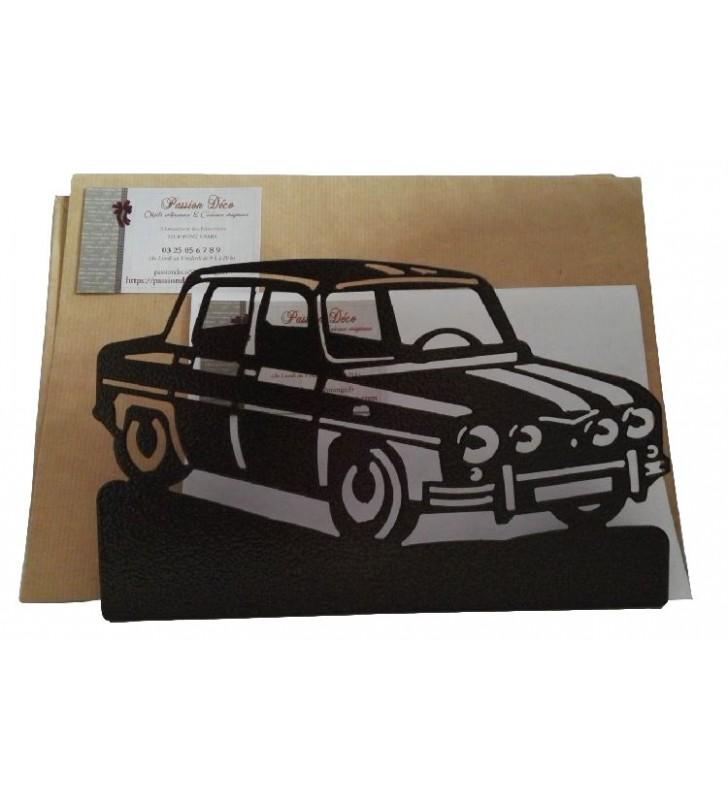 Porte-lettres en métal, R8 Gordini