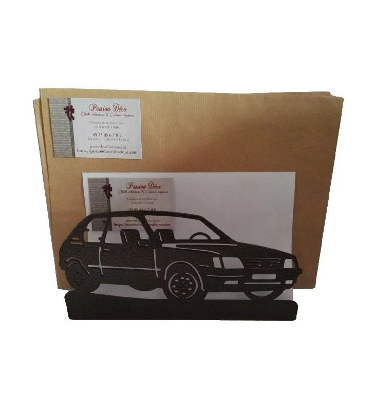 Porte-lettres en métal, 205 GTI