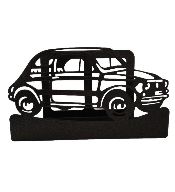 Porte-courrier en métal, Fiat 500