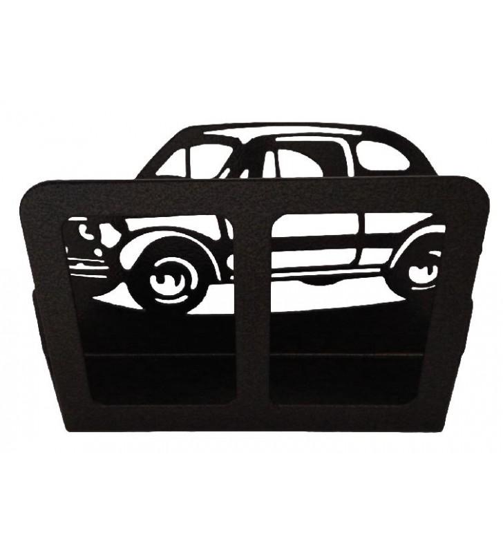 Porte-courrier en métal mural, Fiat 500