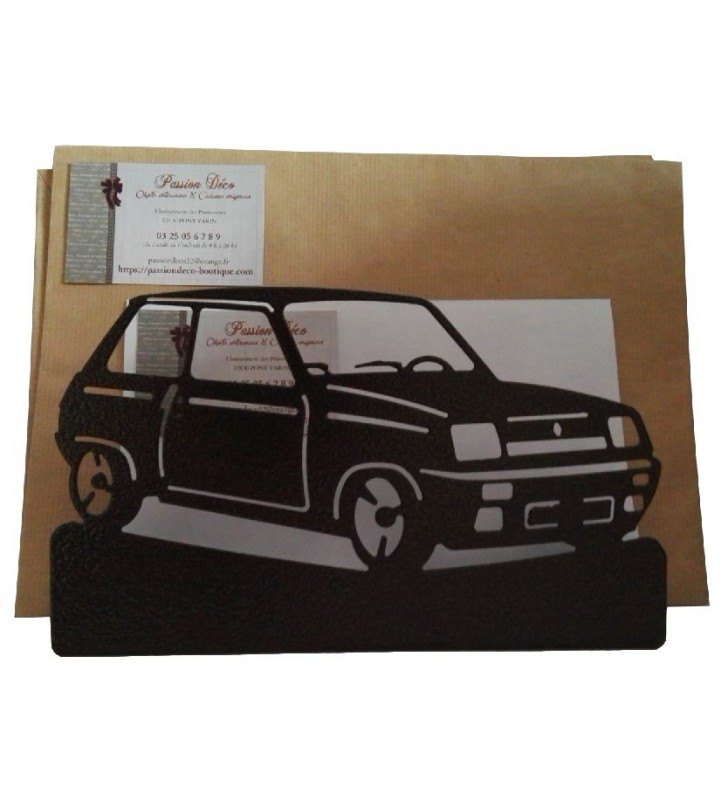 Porte-lettres en métal, R5 Alpine