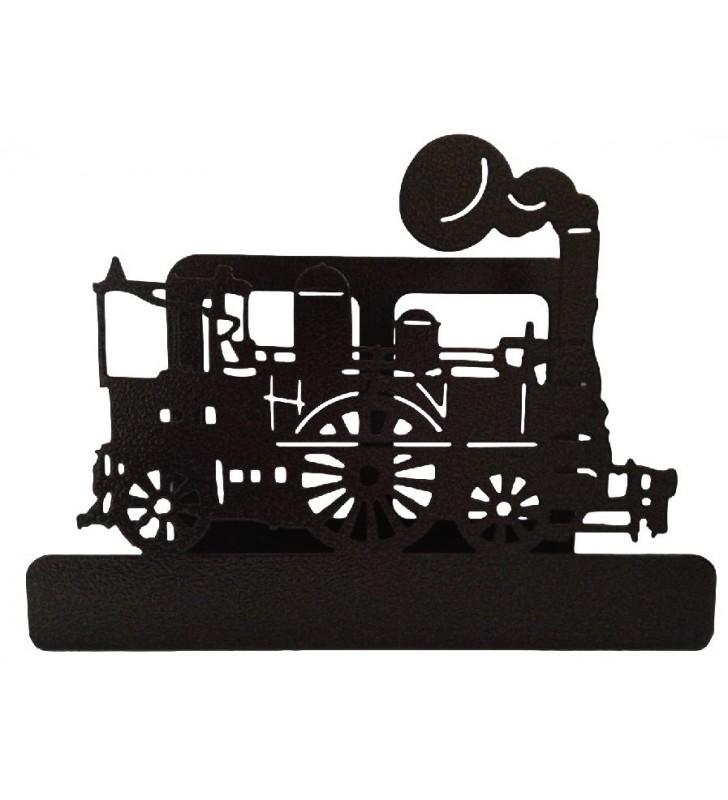 Porte-courrier original, décor Locomotive à vapeur