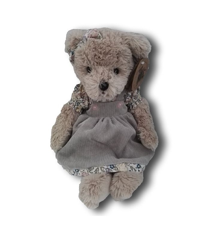 Ourse en peluche Louise Mansen, Ellya, Collection 2021