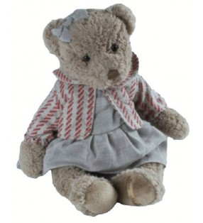 Peluche Louise Mansen, Ourse Alizée, Collection 2021