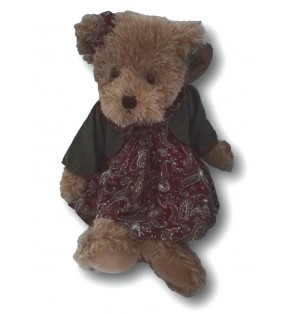 Peluche Louise Mansen, ourse Evie, Collection 2021