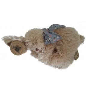 Lapin dormeur Bessie de Louise Mansen, de couleur beige