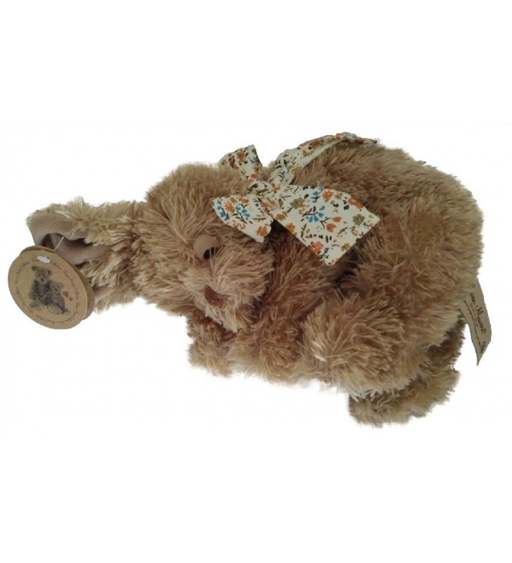 Lapin dormeur Bessie de Louise Mansen, de couleur marron