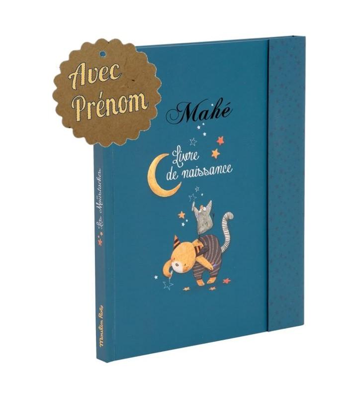 Livre de naissance Moulin Roty, avec prénom de l'enfant