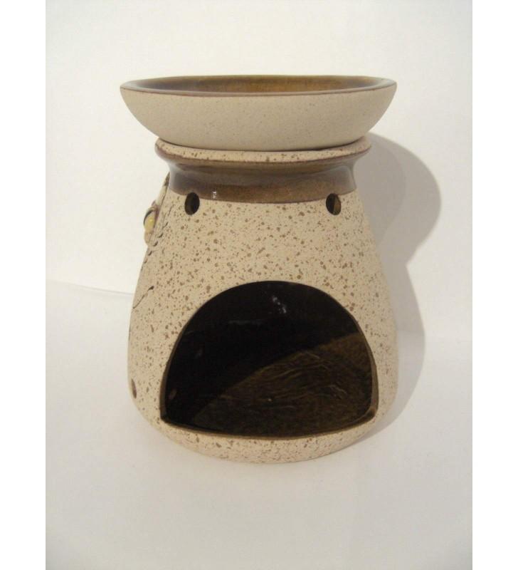 Brûle-parfum poterie artisanale, abeille
