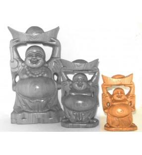 Bouddha rieur, porteur de bol d'or